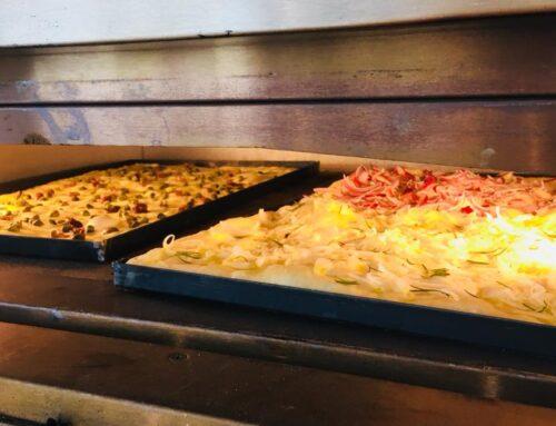 Pizza in Teglia (en Bandeja)